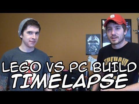 Lego vs PC Build (Timelapse)
