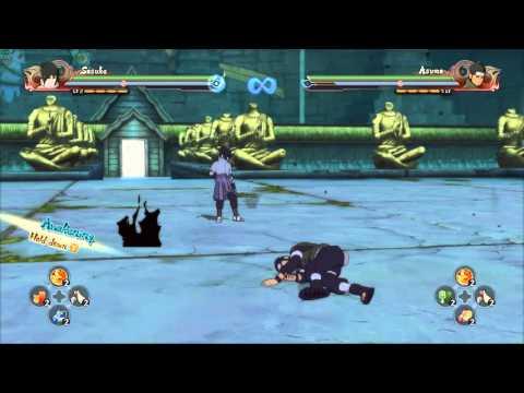 Naruto Shippuden: Ultimate Ninja Storm 4 - Sasuke Uchiha Eternal Mangekyo Sharingan Moveset