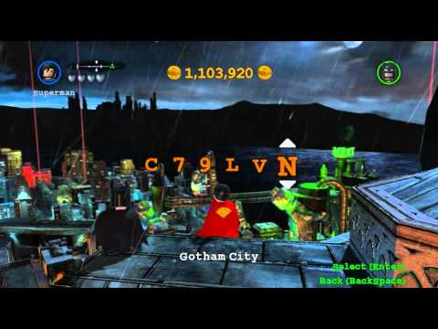 Lego Batman 2 Cheats