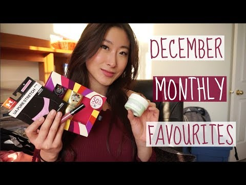 DECEMBER MONTHLY FAVOURITES | Fitness & Beauty
