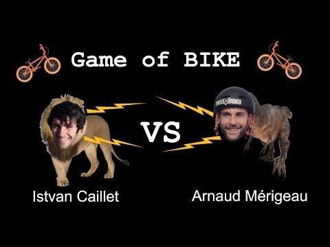 Game of Bike at Spot of Tallinn, Istvan Caillet Vs Arnaud Mérigeau