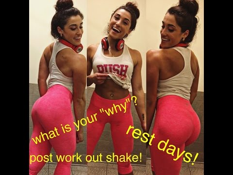 My Post-Work Out Shake| Do I take rest days? | What is your