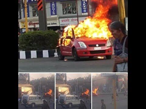 Padmavati - पद्मावती के विरोध में  फुकी गाड़िया ||जिम्मेदार कौन?||