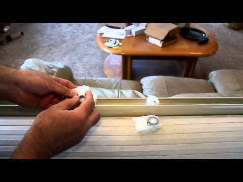 Repairing Levelor cordless cellular shades