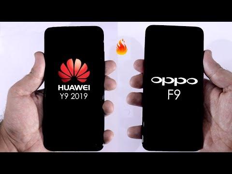 Huawei Y9 2019 Vs OPPO F9 Speed Test Comparison! Urdu/Hindi