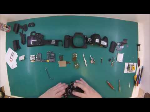 This is How You Replace the Shutter in a DSLR