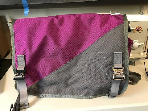 Sew and tell: bad-ass messenger bag!