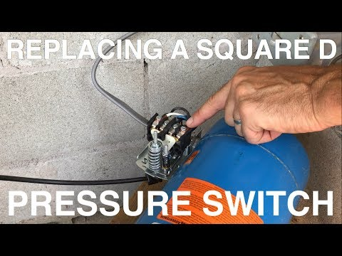 Replacing a Square D Pressure Switch