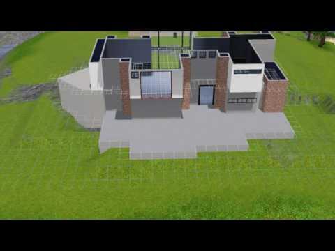 The sims 3 house building - Modern ultra beach 2 - part 1
