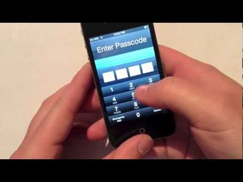How To: Bypass iPhone 4 Passcode on iOS 6.1.3 Firmware + How To Defend/Protect Against It