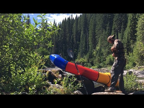 Packrafting Idaho's Backcountry for Elk Research!