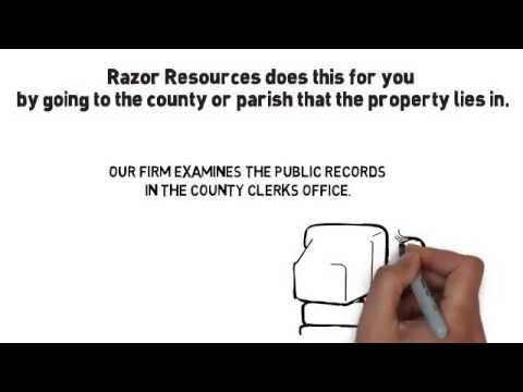 Razor Resources LLC Tip: Determining Mineral Rights Ownership - Houston TX Oil Landman