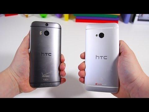 All New HTC One (M8) vs HTC One (M7) - Full Comparison