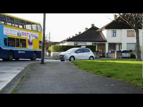 Driving lessons Dublin.Tips for Reversing around a corner. 014061925.