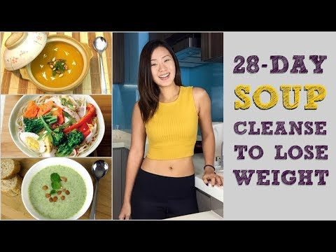 28-Day Soup Detox Cleanse to Lose Weight (Meal Plans Included) | Joanna Soh