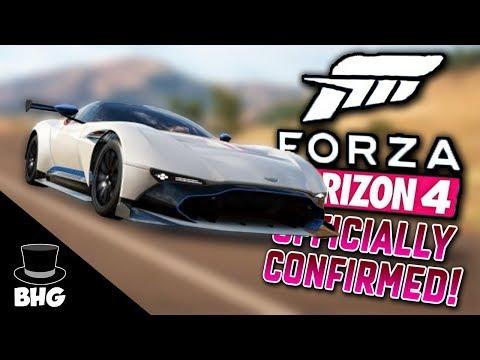 FORZA HORIZON 4 OFFICIALLY CONFIRMED!