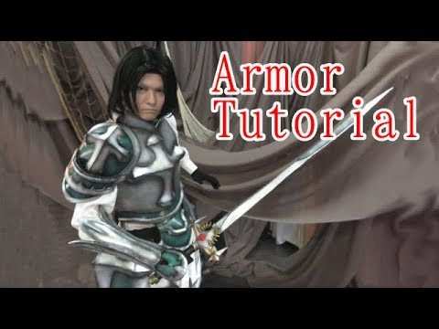 Cosplay armor set tutorial [How to make props]