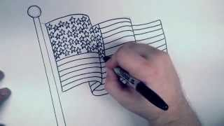 How To Draw A Flag Waving Mat Kharasach Latest Video News