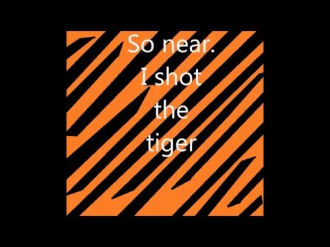 Up Came a Tiger (A Free Verse Poem)