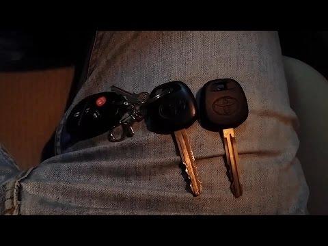 Toyota Key Fob Programming - 2011 Toyota Avalon Valet Key
