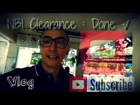 Getting my NBI clearance at Taft ave. - how to commute (Mabilis na process) Vlog 2016