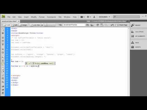 JavaScript Tutorial | Arrays, Conditions, Loops & Functions