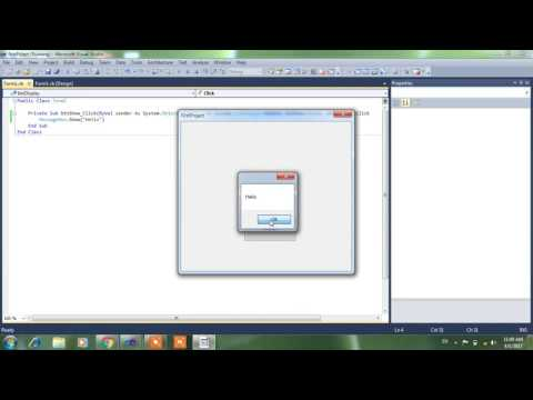 C# and Vb.net - Buttons,TextBox,Form,MessageBox control in  hindi/urdu