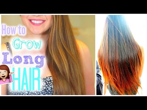 How To Grow Your Hair Longer & Faster | Hair Care Routine 2015