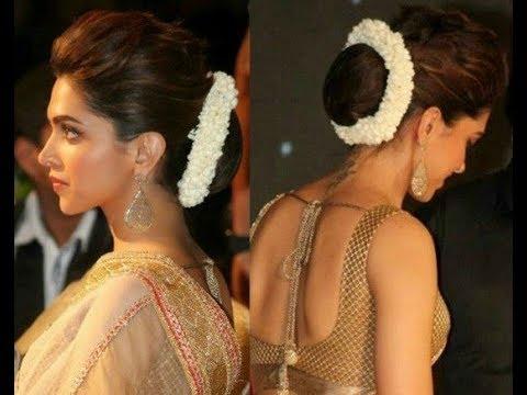 Deepika Padukone hairstyle in 2 minute ||  Deepika Padukone || Indian Hairstyles