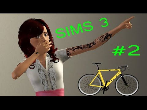 Sims 3 - 2 - Getting a Girlfriend and teleporting bicycles!