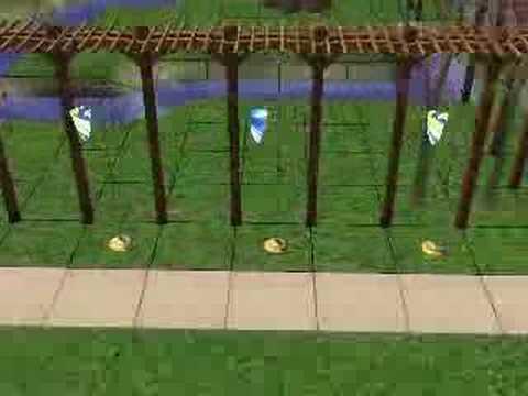 Sims 2 Japanese Garden