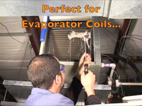 CoilJet Portable Coil Cleaning System with Foaming Coil Cleaner