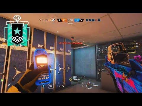 The Pulse Ace Clutch - Xbox Diamond (Ranked Highlights) - Rainbow Six Siege Gameplay