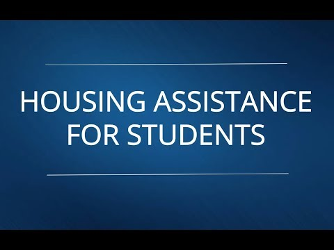 Housing Assistance for Students