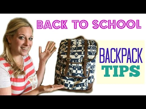 Back to School Backpack Organizing Tips--Collab with Clutterbug!!