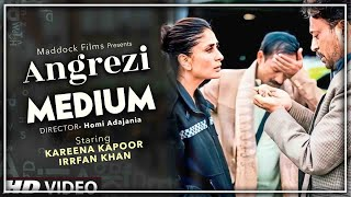 Angrezi Medium - Official Teaser | Irrfan Khan And Kareena Khan First Look | Homi Adajania
