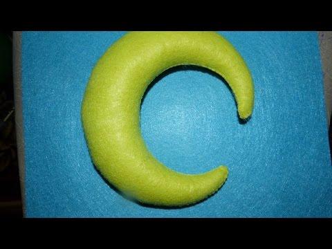 Create a Stuffed Felt Crescent Moon - DIY Crafts - Guidecentral