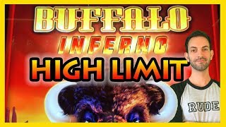 ➡NEW *HIGH LIMIT* BUFFALO Inferno Slot Machines ✦ Brian Christopher Slots