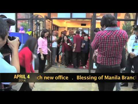 Blessing of Manila Branch