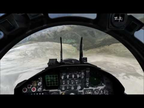 DCS: FC3 - F-15 Mountain Flying low and fast