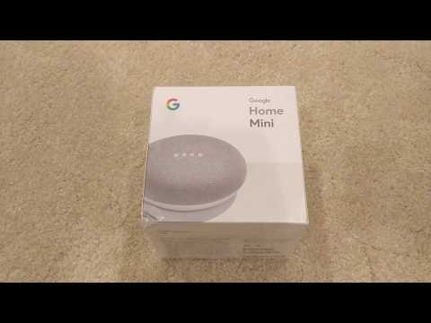 Google Home Mini Unboxing
