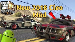 Download and install  New 2018 Cleo Cheats  Mod for GTA San any Android   in Kannada