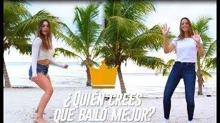 ¡Duelo de estrellas! Lina Tejeiro y Laura Acuña bailan en la playa   Reto 4 Elementos Colombia