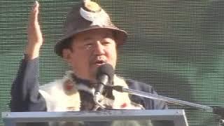 Lepcha Dorji T, President ILTA Speech