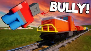 We Threw OB's Bully in Front of the Lego Train! (Brick Rigs Multiplayer Roleplay)
