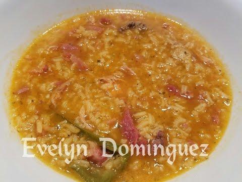 Chicken and Ham Sopon (Asopao) Soup