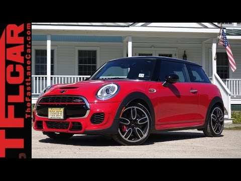 2015 MINI John Cooper Works First Drive Review: Fastest Production MINI