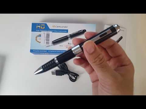 Full HD Spy Pen - 12MP - 1080P - 32GB - by NEXGADGET
