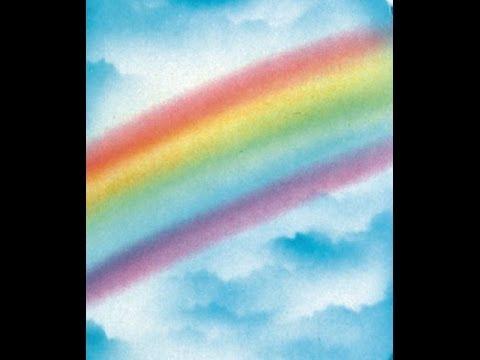 Cake Decorating Airbrush--Part 5--Easy Airbrush Rainbow