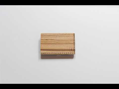 BeWooden wooden card holder